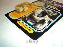 Star Wars Vintage Potf Yoda Kenner USA Puissance De La Carte Coin Force 92 Retour Moc