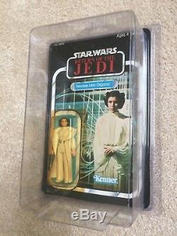 Star Wars Vintage, Princesse Leia, Cap Blanc, Rotj, Moc, Unpunched, Difficile À Trouver