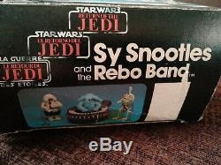 Star Wars Vintage Rare Sy Snootles Et La Bande Rebo