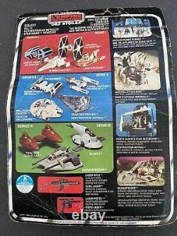 Star Wars Vintage Rebel Armored Snowspeeder Véhicule 1980 Kenner Dans Le Pack Original