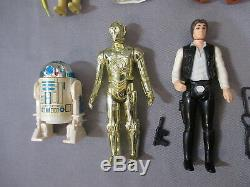 Star Wars Vintage Stand D'affichage Mail Away First 12 Figurines Complètes 1977