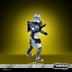 Star Wars Vintage The Clone Wars 501ème Legion Arc Troopers 3-pack Exclusif Sdcc