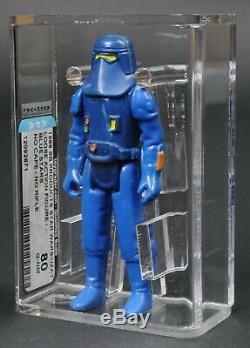 Star Wars Vintage Uzay Blue Stars Afa Q80 Loose No Coo