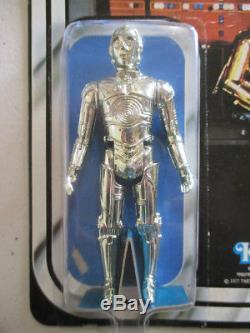 Star Wars Vintage Voir-threepio C-3po Figure Moc Unpunched 12 Retour B Kenner