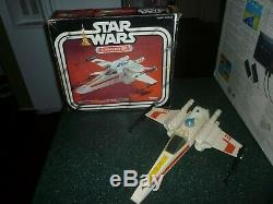 Star Wars Vintage X-wing Fighter Dans Boîte D'origine