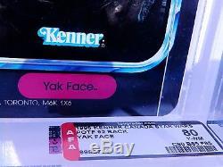 Star Wars Vintage Yak Face Potf Puissance De La Force Moc Afa 80 (80-85-85)