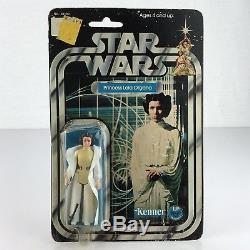 Statuette Leia Organa Moc 12 Retour Vintage Star Wars Princesse 1977 Kenner