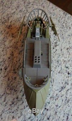 Tatooine Skiff 1984 Star Wars Compléter Vintage Original Potf De Travail! 1985