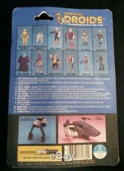 Tig Fromm Droides Bande Dessinée Vintage Star Wars Kenner 1985 Original