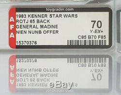 Toltoys Vintage Star Wars 1983 Rotj, 65 Dos, Général Madine, Moc