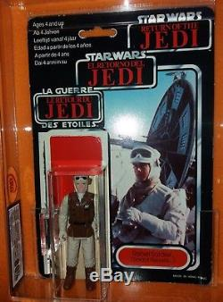 Ukg 85/80 Pbp Marron Foncé Rebelle Soldat Tri Logo Avec Logo Star Wars Vintage Afa