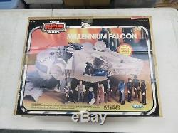 Véhicule Falcon Vintage Kenner Star Wars Esb Millenium Falcon Complet Avec Box