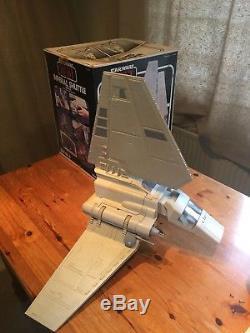 Véhicule Navette Vintage Star Wars Imperial Rotj Kenner