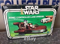 Vengeance Sonic Land Speeder Jc Penny 1978 Complète De Star Wars Jedi Vader Luke R2d2