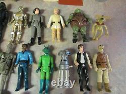 Vintage 1977-1983 Kenner Star Wars Action Figure Lot Of 40