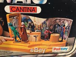 Vintage 1977 De Palitoy Star Wars Cantina Playset Boîte D'origine Uniquement