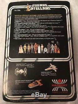 Vintage 1977 Italien Harbert Star Wars Stormtrooper Moc Inutilisé