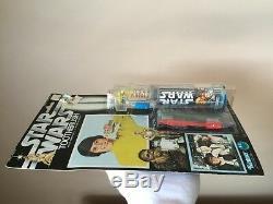 Vintage 1977 Kenner Star Wars Rare Set De Brosse À Dents Électrique Neuf Sur La Carte