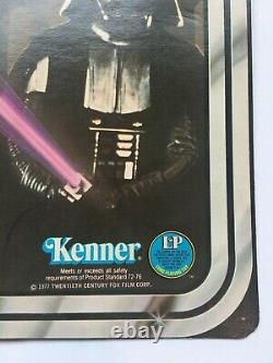 Vintage 1977 Star Wars Darth Vader 12 Retour Kenner Emballage Original Scellé