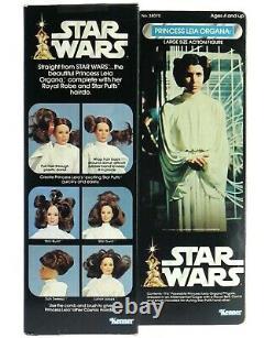 Vintage 1978 Kenner Star Wars 12 Princesse Leia Organa Monnaie De Poupée Avec Boîte Mib Nrfb