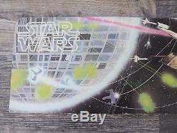 Vintage 1978 Kenner Star Wars Présentoir Avec Figurine Articulée À 12 Lettres