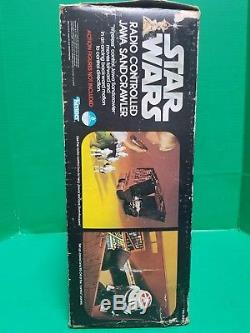 Vintage 1979 Star Wars Partie Radio Jaw Sandcrawler Partie Box Seulement