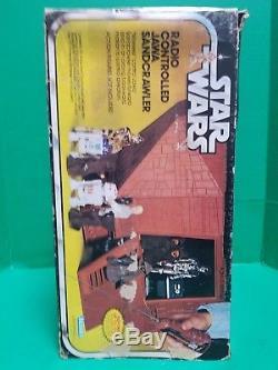 Vintage 1979 Star Wars Radio Control Jawa Sandcrawler Partie Box Seulement