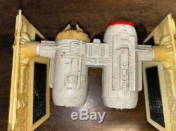 Vintage 1980 Kenner Star Wars Die-cast Tie Bomber Véhicule Rare