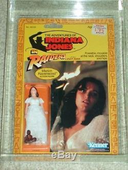 Vintage 1982 Kenner Afa 80 Marion Ravenwood Jones Indiana Rotla 9 Retour Carte Moc