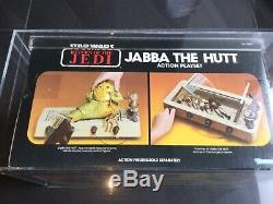 Vintage 1983 Kenner Star Wars Jabba Le Jeu De Jeu Hutt Misb Afa 80 Beautiful Piece
