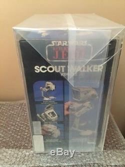 Vintage 1983 Kenner Star Wars Retour Du Scout Walker Jedi Afa 80