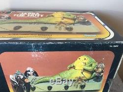 Vintage 1983 Kenner Star Wars Rotj Jabba La Mib Hutt Jamais Ouvert