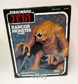 Vintage 1983 Star Wars Retour Du Monstre Ranceur Jedi Scellé Nouvelle Boîte Kenner