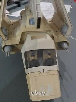 Vintage 1984 Imperial Shuttle Lambda Star Wars Retour Du Chenil Jedi Complet