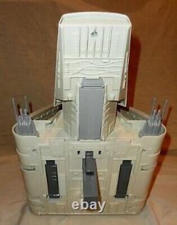 Vintage 1984 Kenner Star Wars Rotj Imperial Shuttle Withbox Autocollants Inutilisés Wow