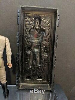 Vintage 1984 Star Wars Han Solo Dans La Carbonite Chambre Dernière 17 Potf Kenner