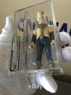Vintage 1985 Kenner Star Wars Yak Visage Superbe Afa 90 Wow Look