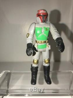 Vintage 1990 Star Wars Boba Fett Polonais Bootleg Action Figure