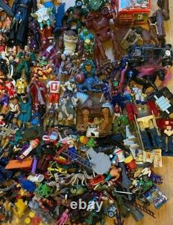 Vintage Années 80s 90 Figure Toy Lot Bundle Ghostbusters He-man Turtles Star Wars Wwf