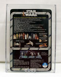 Vintage Cardé Star Wars 12-retour A Tusken Raider (sand People) Afa 85 (85 85 80)