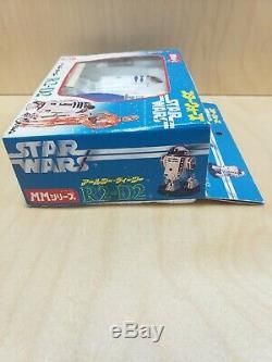 Vintage Firing R2-d2 Star Wars Takara 1978 Missile Wind Up Mib Inutilisé Belle