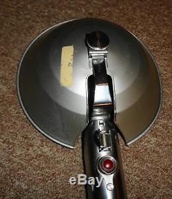 Vintage Graflex 3 Cellules Flash Unité Bouton Rouge Glass Eye Light Saber Star Wars Wow