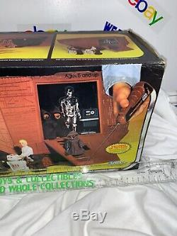 Vintage Kenner 1977 Radiocommandés Star Wars Contrôlée Jawa Sandcrawler Jamis Utilisé