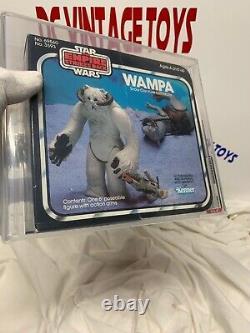 Vintage Kenner 1982 L'empire Frappe Retour Star Wars Esb Wampa Afa 75+ -sealed