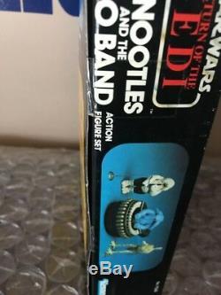 Vintage Kenner 1983 Star Wars Retour De La Bande Sy Rebo De Jedi Rotj Mib