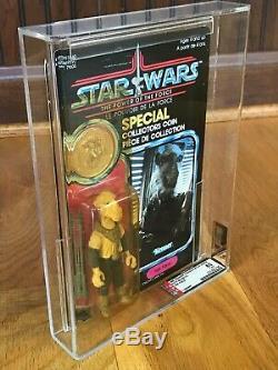 Vintage Kenner Canada Star Wars Moc Afa60y Potf Yak Visage Graal
