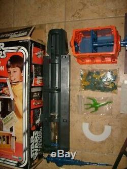 Vintage Kenner Death Star Figure Playset 100% Complet Avec Étui De Style Afa