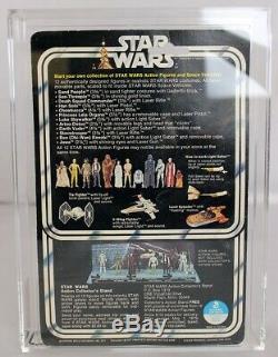 Vintage Kenner Star Wars 12 Luke Skywalker (pantalon Brillant) Vintage 1978 / Afa 80