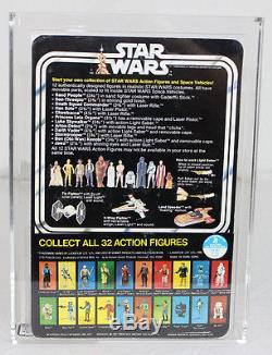 Vintage Kenner Star Wars 12 Retour-c Luke Skywalker (32 Autocollant Arrière) Afa 75+ Ex + /