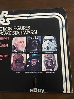 Vintage Kenner Star Wars 12-retour Figure Magasin Affichage En-tête Excellent État